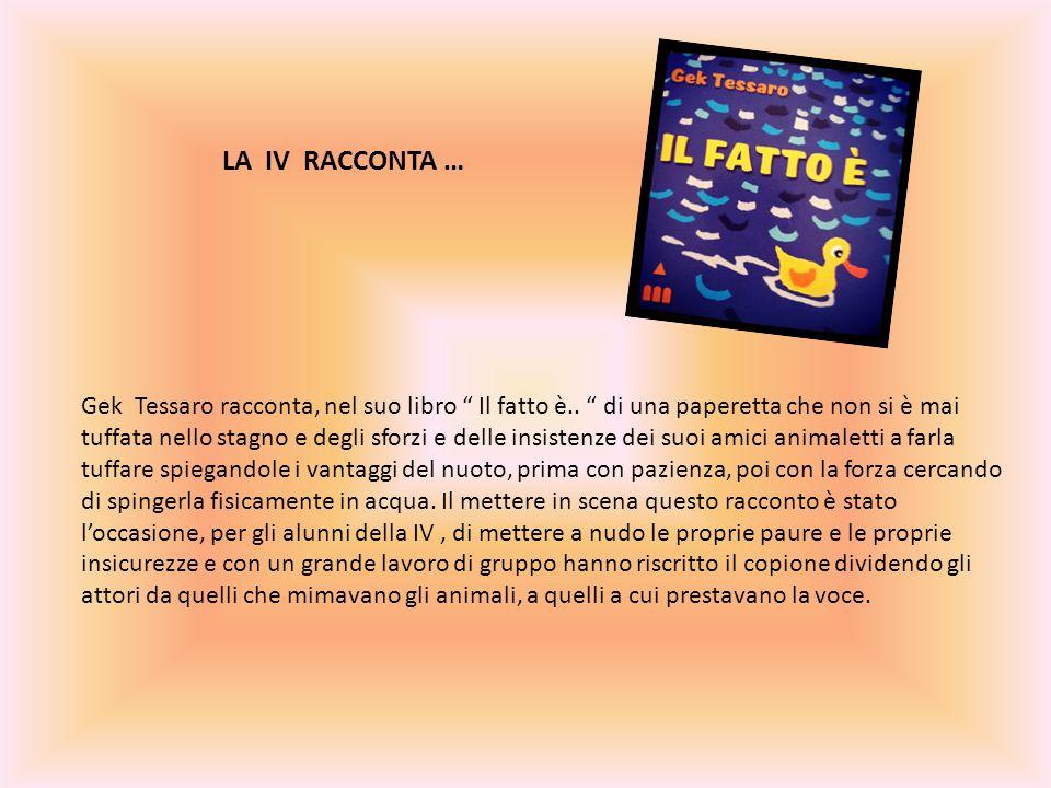 Gek Tessaro racconta, nel suo libro Il fatto è..