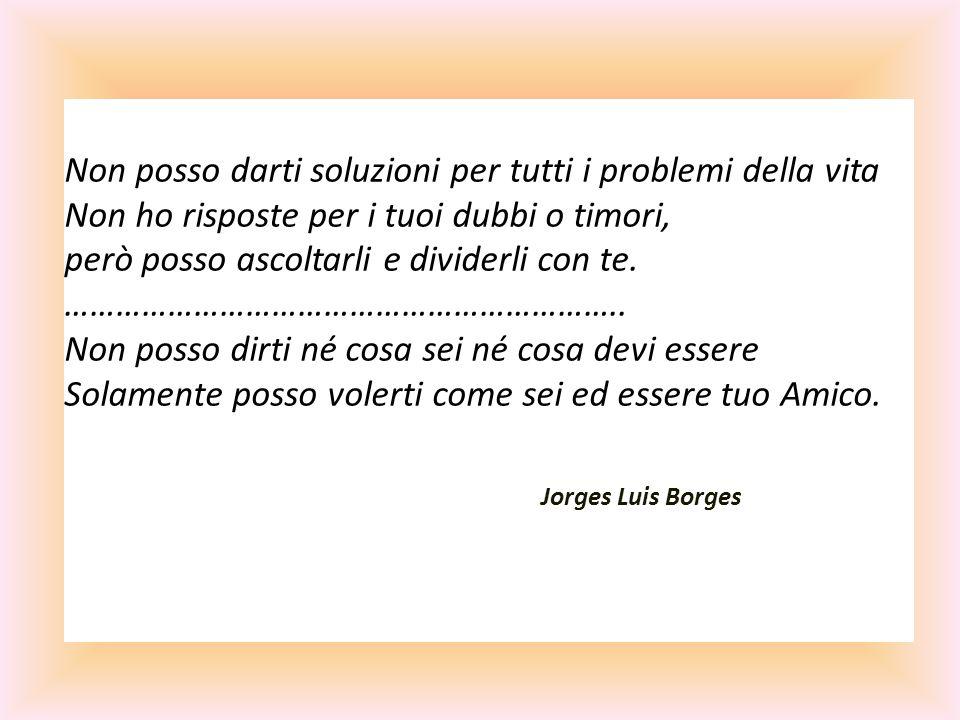 Non posso darti soluzioni per tutti i problemi della vita Non ho risposte per i tuoi dubbi o timori, però posso ascoltarli e dividerli con te. …………………