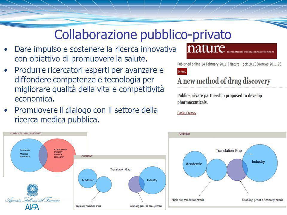 Dare impulso e sostenere la ricerca innovativa con obiettivo di promuovere la salute. Produrre ricercatori esperti per avanzare e diffondere competenz
