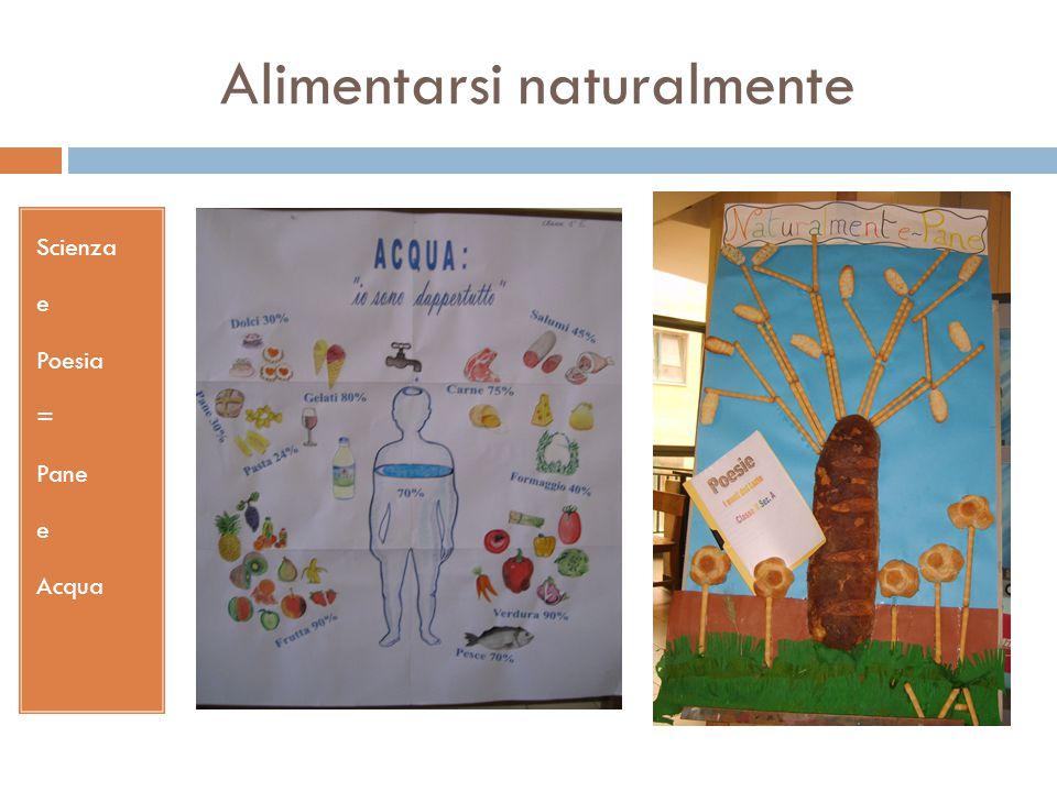 Alimentarsi naturalmente Scienza e Poesia = Pane e Acqua