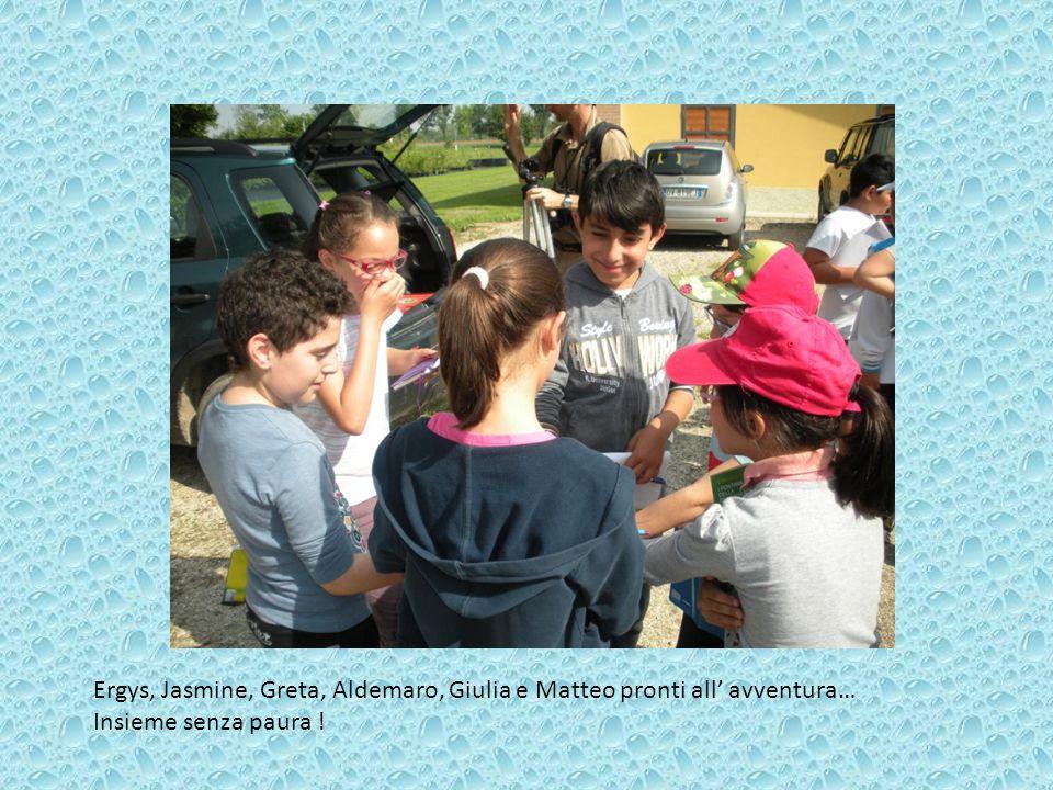 Ergys, Jasmine, Greta, Aldemaro, Giulia e Matteo pronti all' avventura… Insieme senza paura !