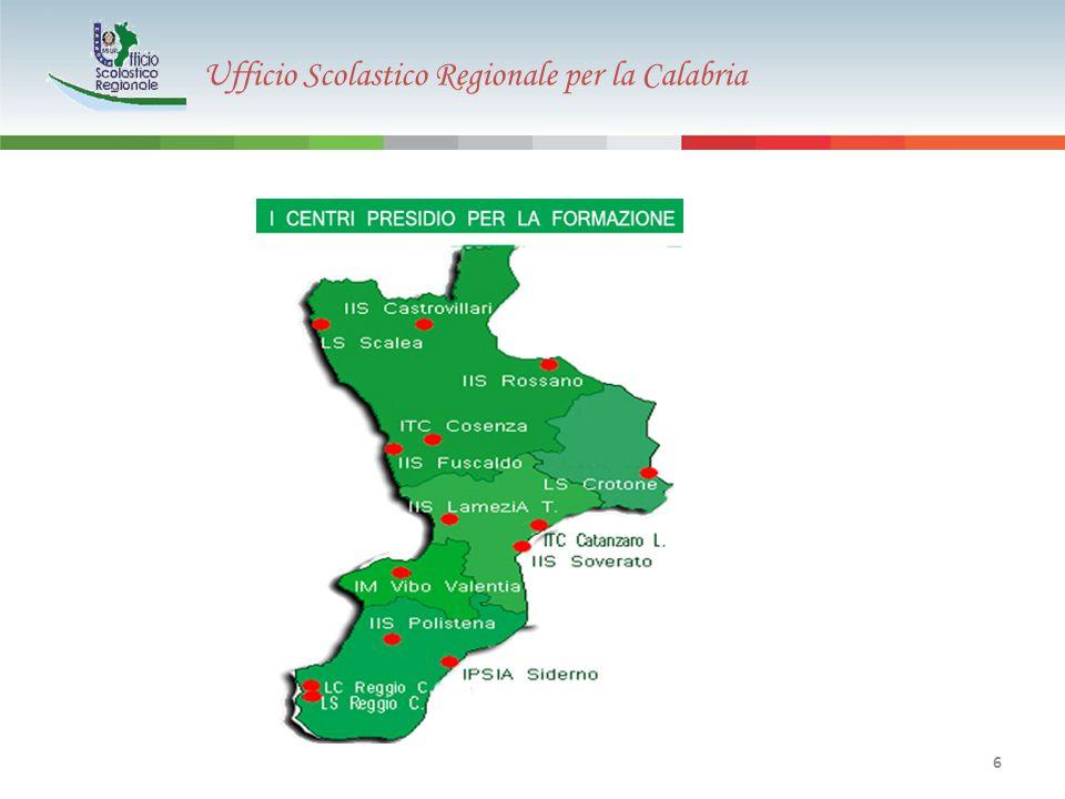 Ufficio Scolastico Regionale per la Calabria 27 TOTALE SOGGETTI IN FORMAZIONE: 5.177 COSTO UNITARIO PER PARTECIPANTE: € 110 Il costo unitario