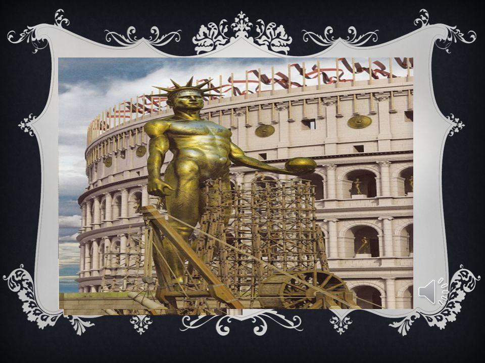 L'ORIGINE DEL NOME  Il nome Colosseo deriva da Colosso, cioè grande, termine utilizzato in riferimento alla statua di Nerone posta proprio davanti al