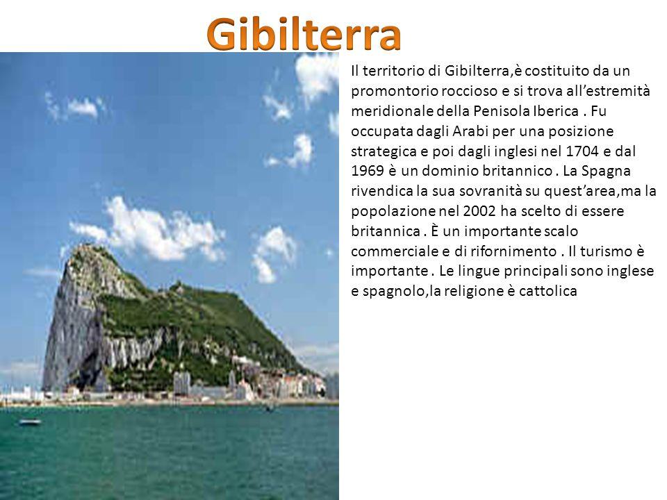 Il territorio di Gibilterra,è costituito da un promontorio roccioso e si trova all'estremità meridionale della Penisola Iberica. Fu occupata dagli Ara