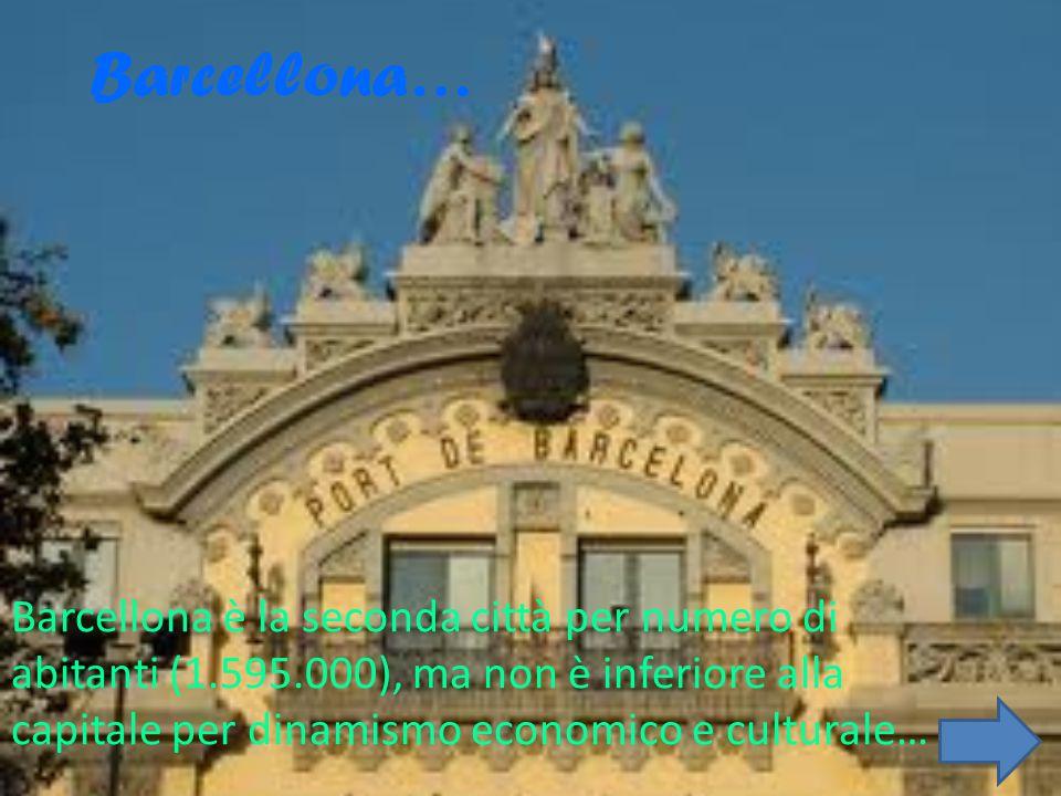Le città… In Spagna le città sono, sono ricchissime di opere d'arte; inoltre ha molti monumenti considerati «Patrimonio dell'umanità». La sua capitale