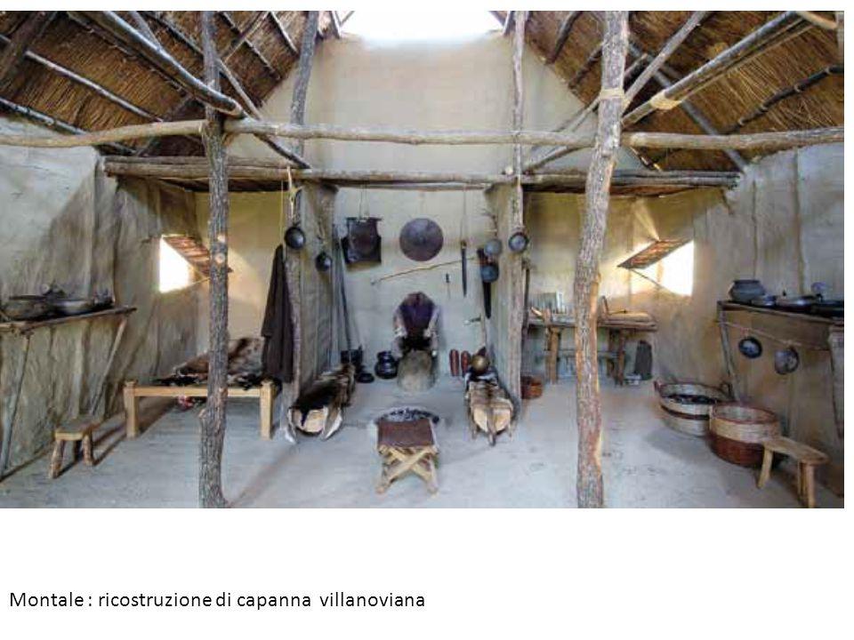 Montale : ricostruzione di capanna villanoviana