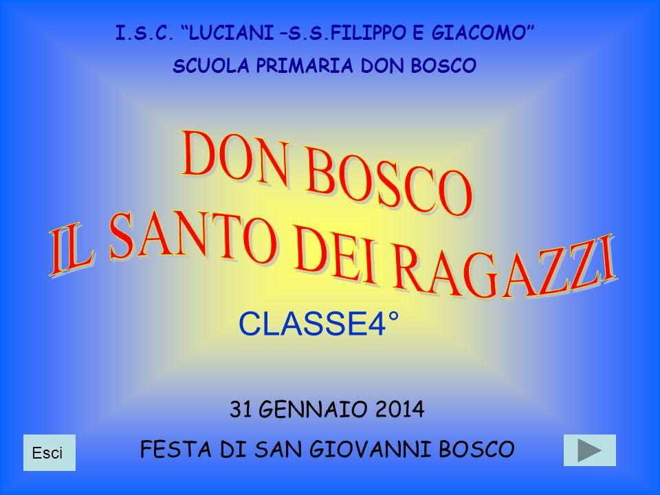 Giovanni Bosco nasce il 16 agosto 1815 in una piccola frazione di Castelnuovo d'Asti.