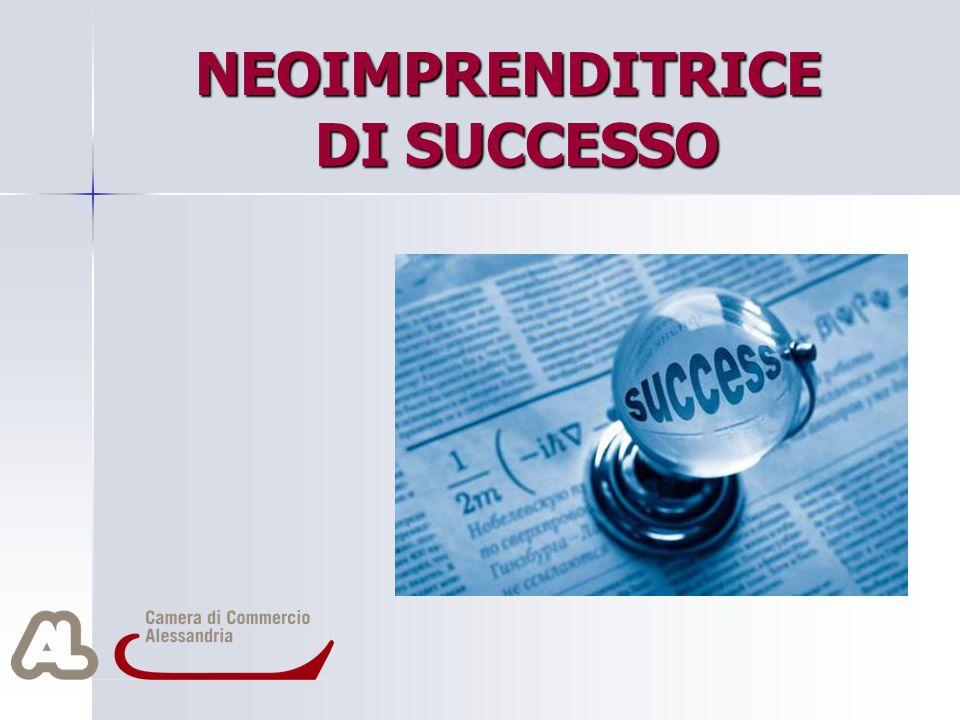 NEOIMPRENDITRICE DI SUCCESSO