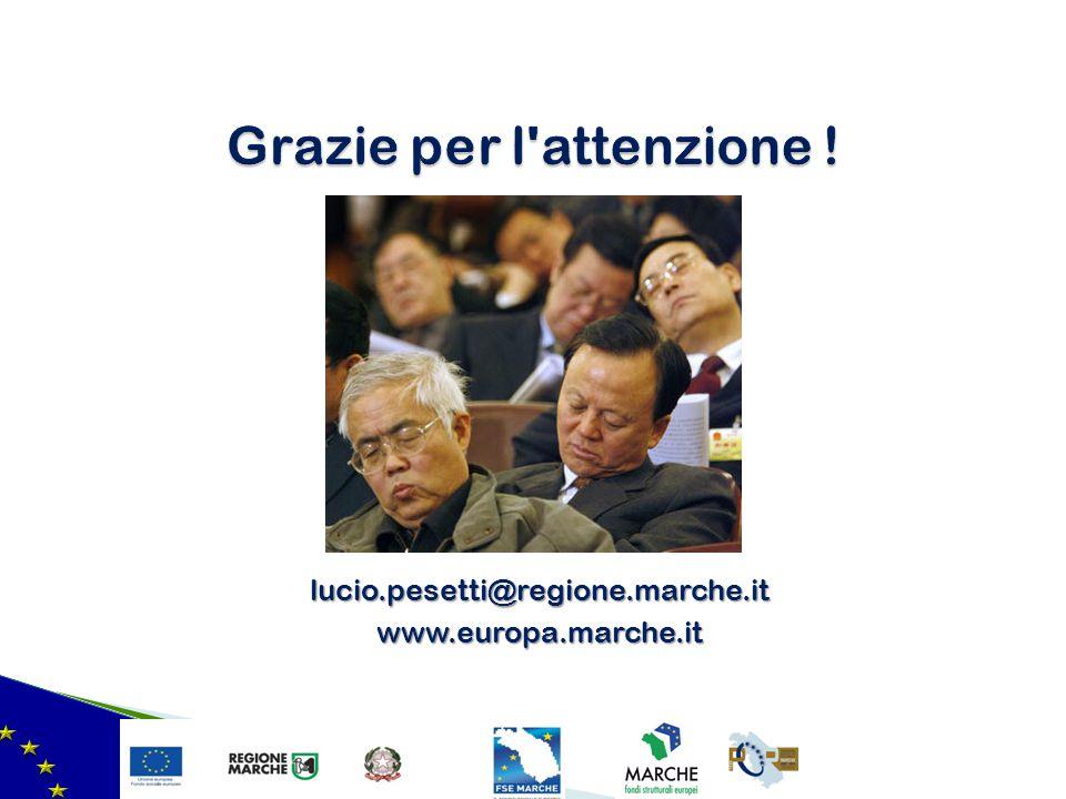 lucio.pesetti@regione.marche.itwww.europa.marche.it
