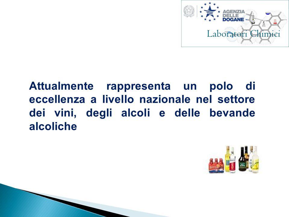 Attualmente rappresenta un polo di eccellenza a livello nazionale nel settore dei vini, degli alcoli e delle bevande alcoliche