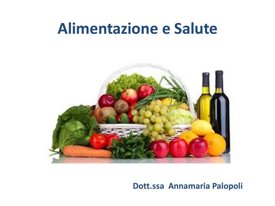 Alimentazione e Salute Dott.ssa Annamaria Palopoli