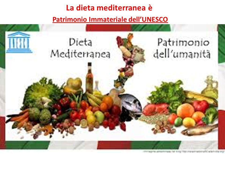 La dieta mediterranea è Patrimonio Immateriale dell'UNESCO