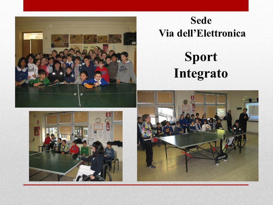 Sport Integrato Sede Via dell'Elettronica