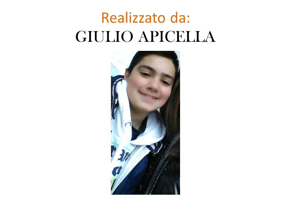 Realizzato da: GIULIO APICELLA
