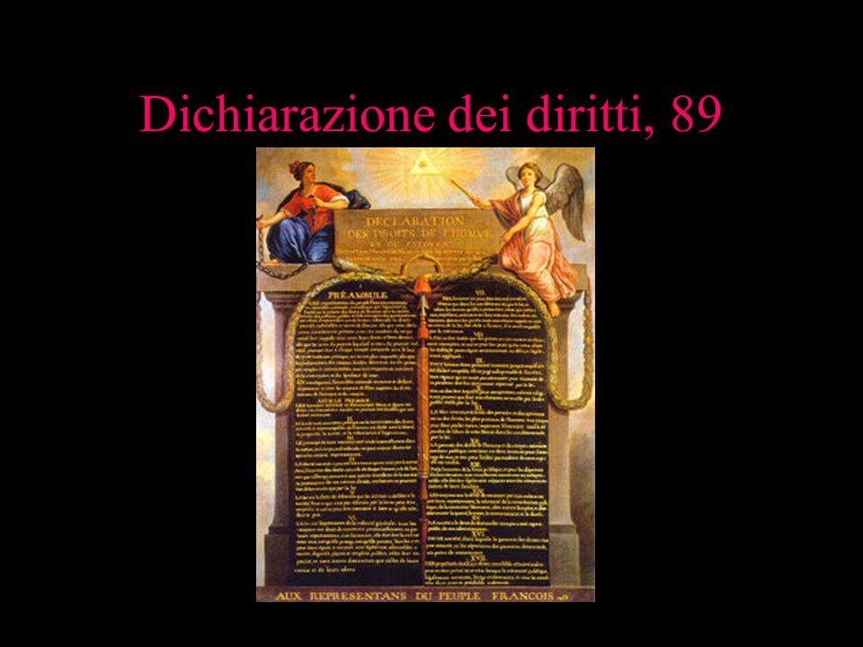 Dichiarazione dei diritti, 89