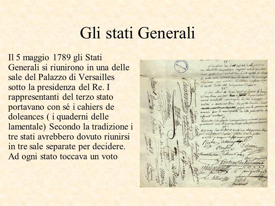 La questione del voto Secondo la tradizione si poteva votare o per stato o per testa.