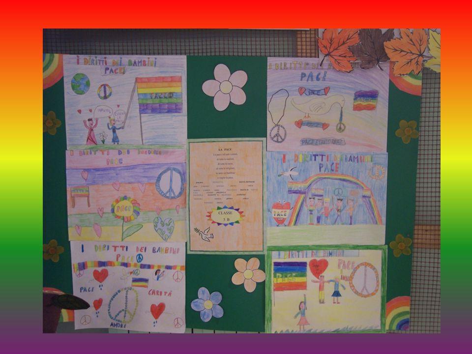 LA PACE La pace é di tutti i colori, di tutte le nazioni, di tutte le razze, di tutte le religioni, io sono un bambino e voglio la pace.