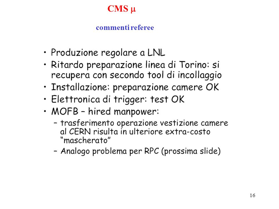 16 CMS  commenti referee