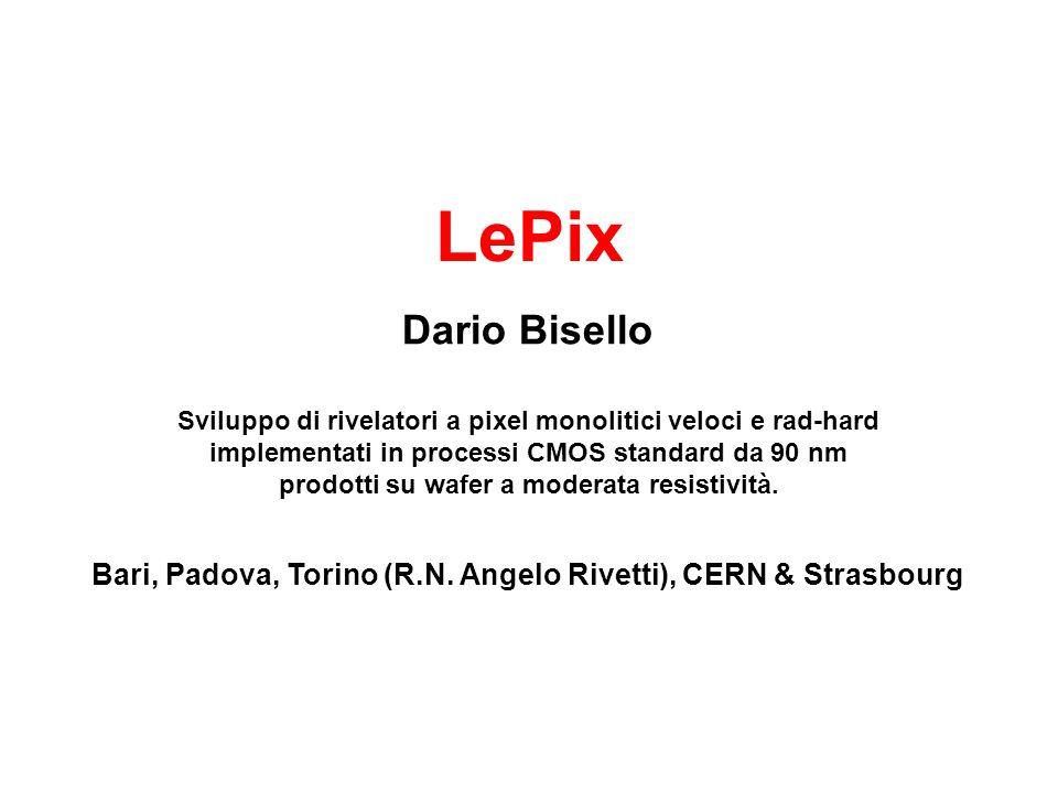 LePix Bari, Padova, Torino (R.N.
