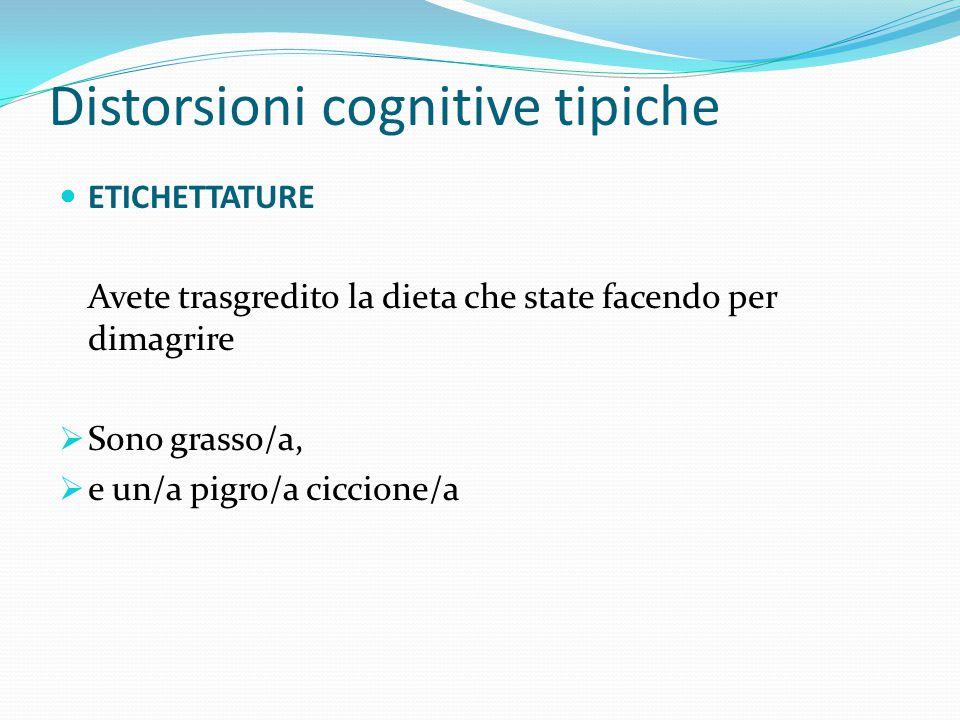 """Distorsioni cognitive tipiche CONSIDERAZIONI SU COME LE COSE """"DOVREBBERO ESSERE"""" Ciascuno di noi pensa a come le cose dovrebbero essere, ma dobbiamo a"""