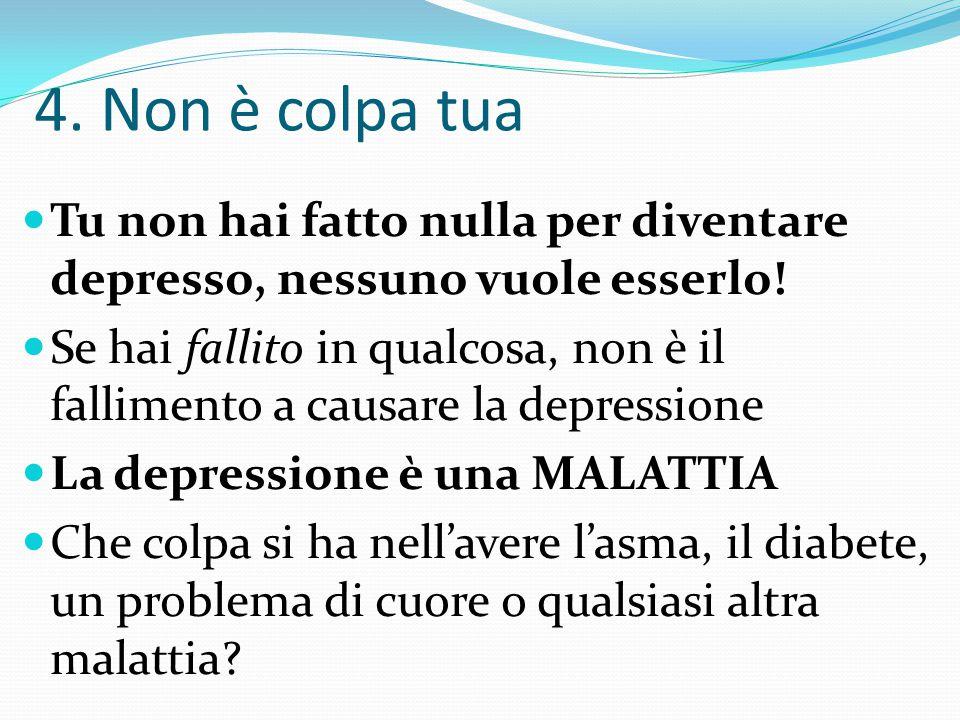 """3. """"Perché preoccuparsi?"""" LA DEPRESSIONE è una MALATTIA che ci DERUBA del SIGNIFICATO DELLA VITA del GUARIRE DALLA MALATTIA STESSA!!"""