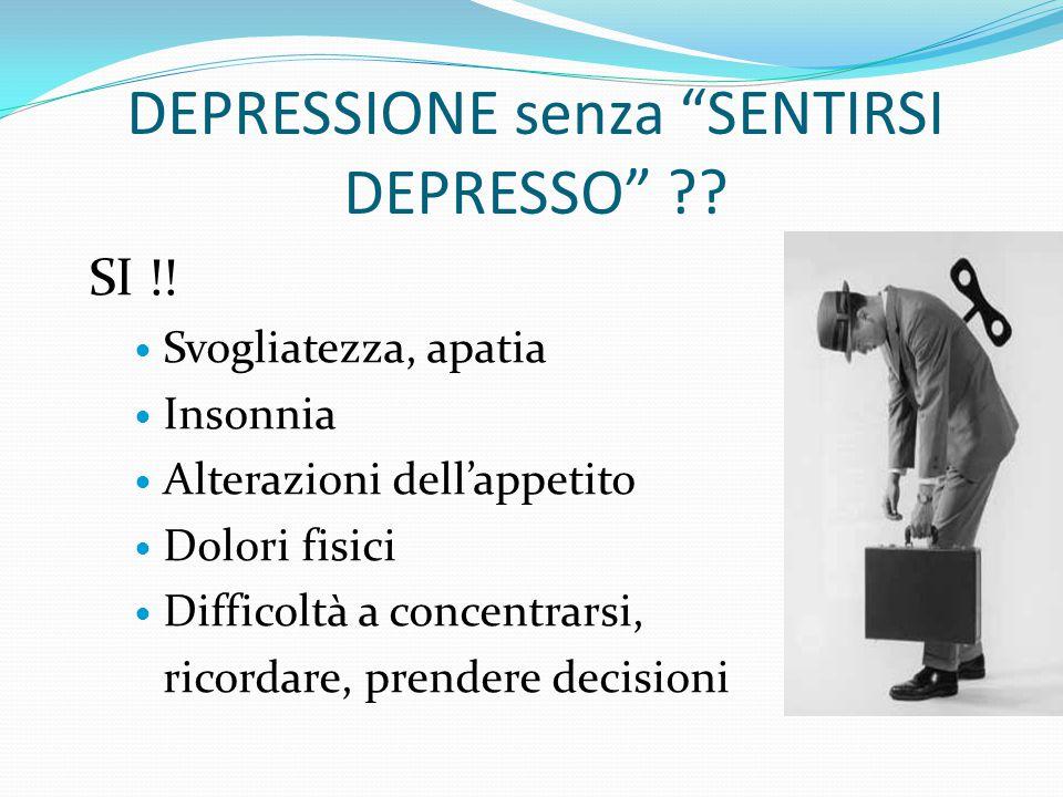 """SEI DEPRESSO? Una persona può sentirsi giù, triste, deluso o arrabiato, perfino tutte queste cose insieme Senza essere """"clinicamente depresso"""" Per ese"""