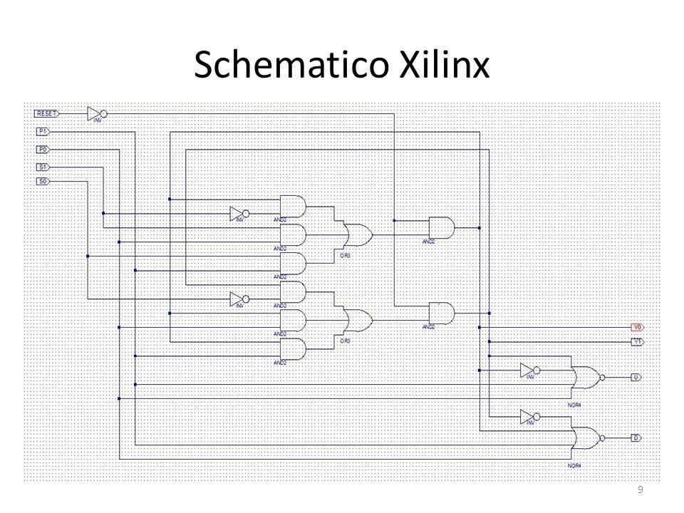 Schematico Xilinx 9