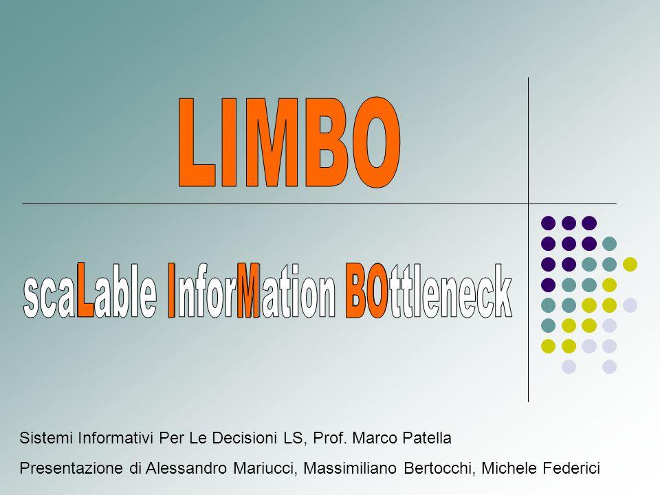 Sistemi Informativi Per Le Decisioni LS, Prof.