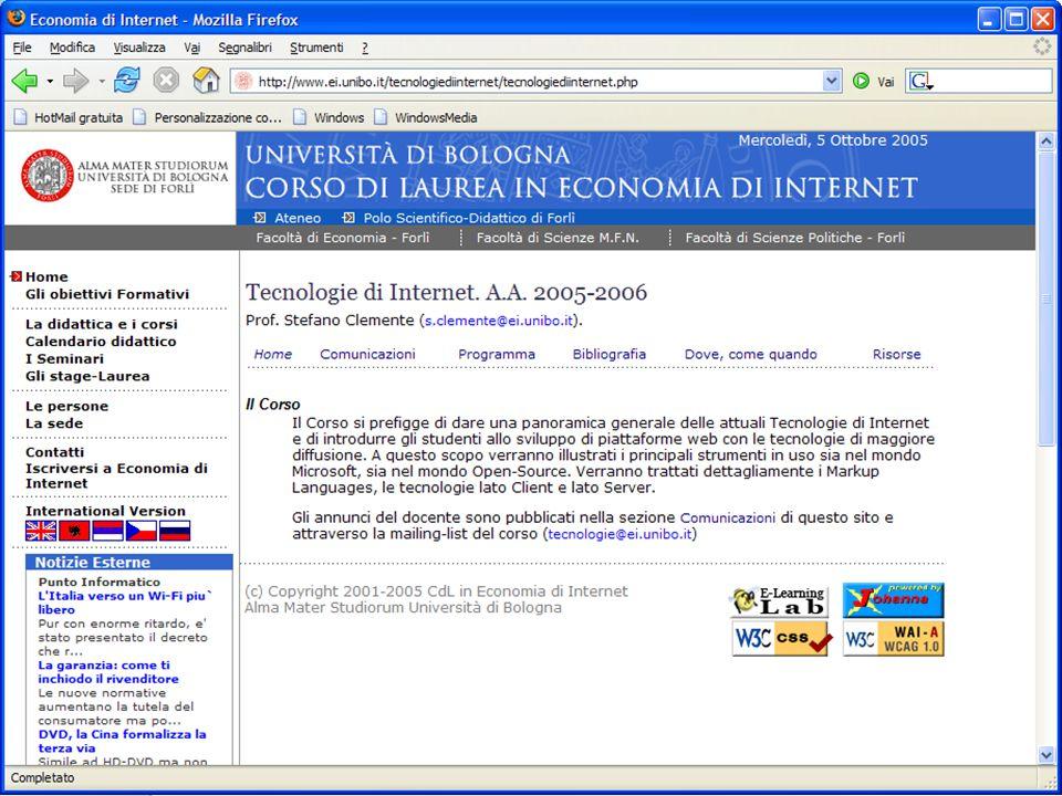 6 Ottobre 2005Stefano Clemente58