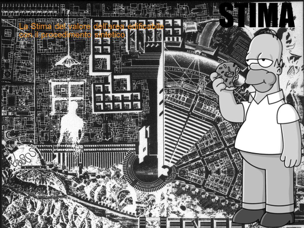 Approfondimento STIMA La Stima del valore dell'area edificabile con il procedimento sintetico