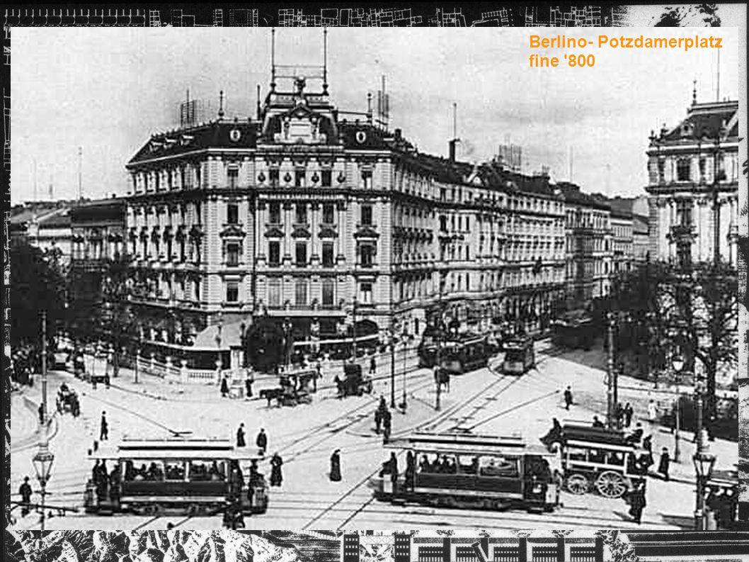 Berlino- Potzdamerplatz fine '800