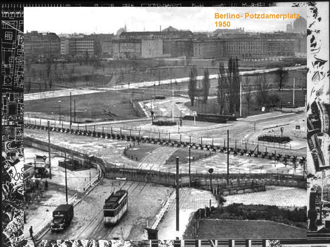 Berlino- Potzdamerplatz 1950