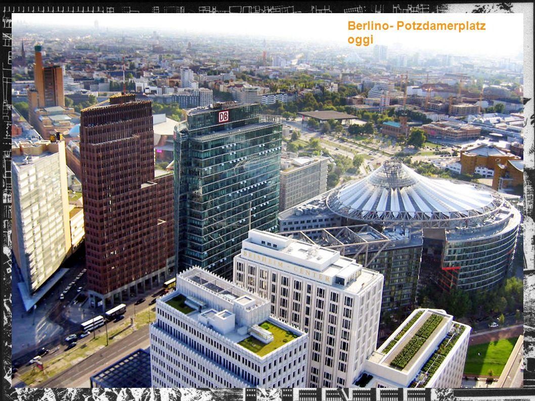 Berlino- Potzdamerplatz oggi