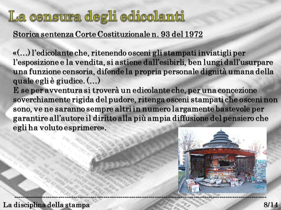 Corte Costituzionale – sentenza n.