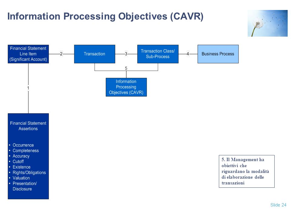 Slide 24 Information Processing Objectives (CAVR) 5.