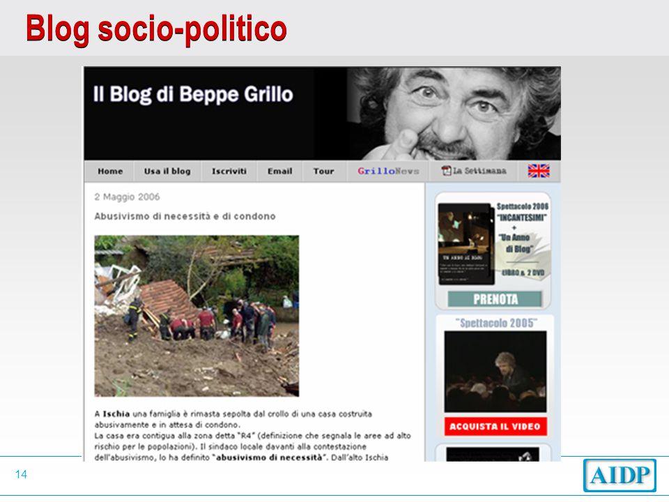 14 Blog socio-politico