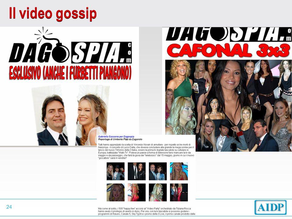 24 Il video gossip