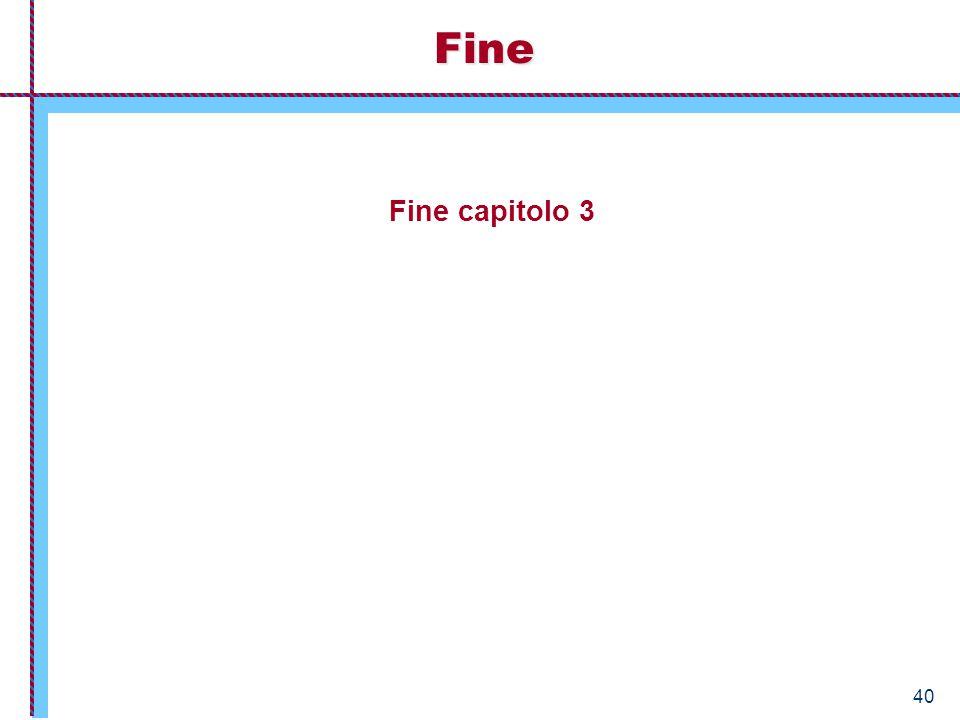 40 Fine capitolo 3 Fine
