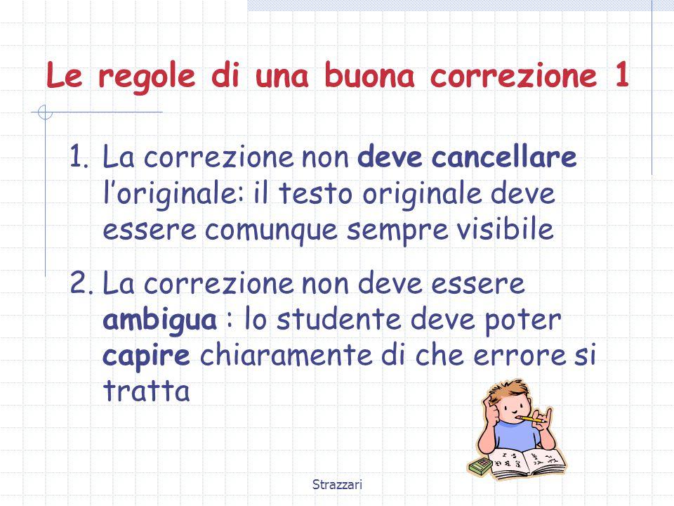 Strazzari Le regole di una buona correzione 2 3.
