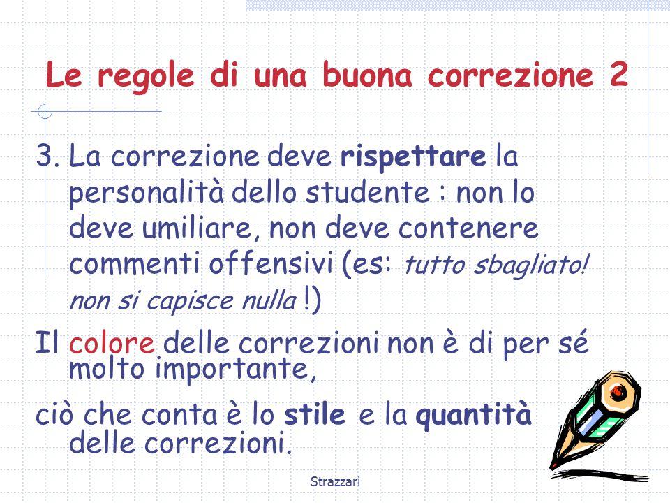 Strazzari Le regole di una buona correzione 3 4.