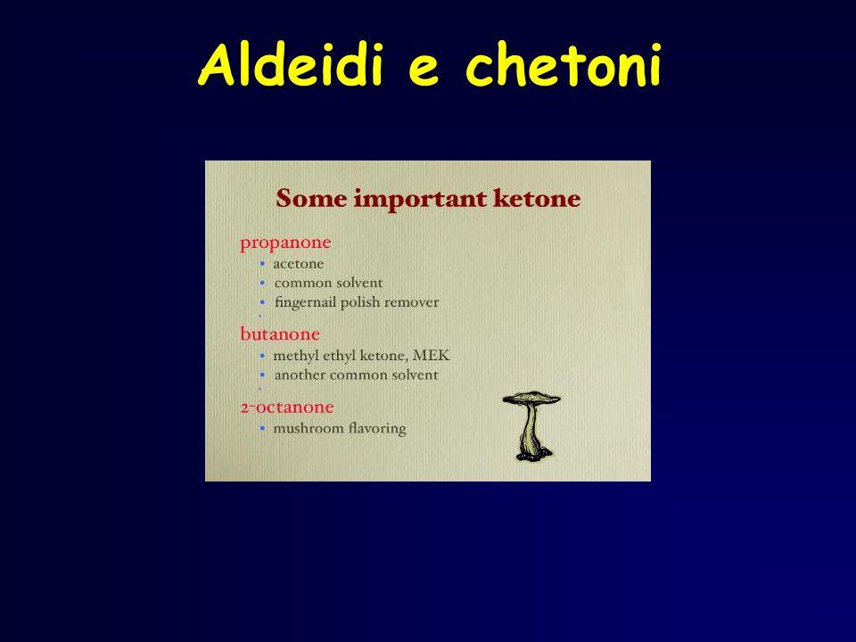  Trovare la catena più lunga di atomi di carbonio contenente il gruppo C=O (non deve trovarsi ad una estremità altrimenti si tratta di una aldeide).