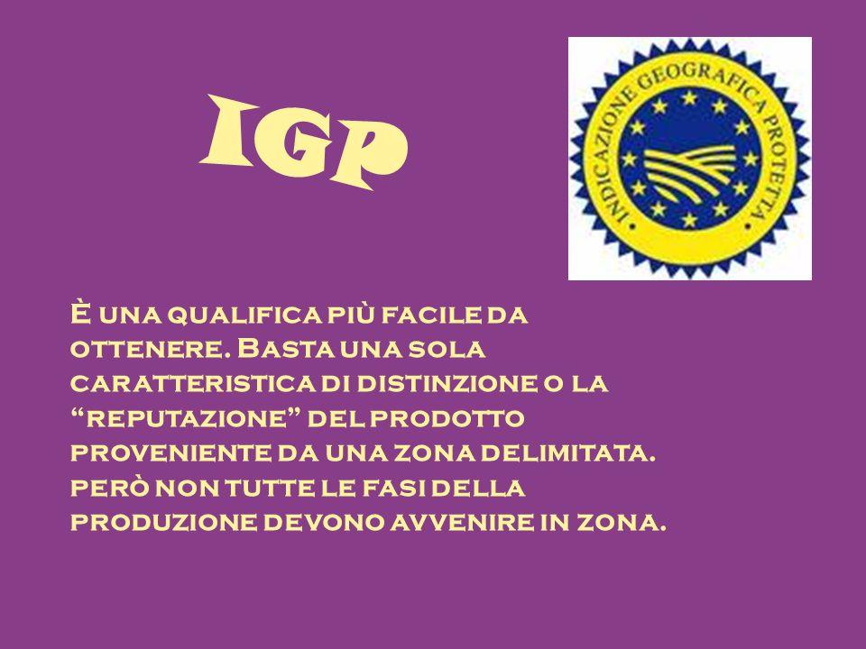 IGP È una qualifica più facile da ottenere.