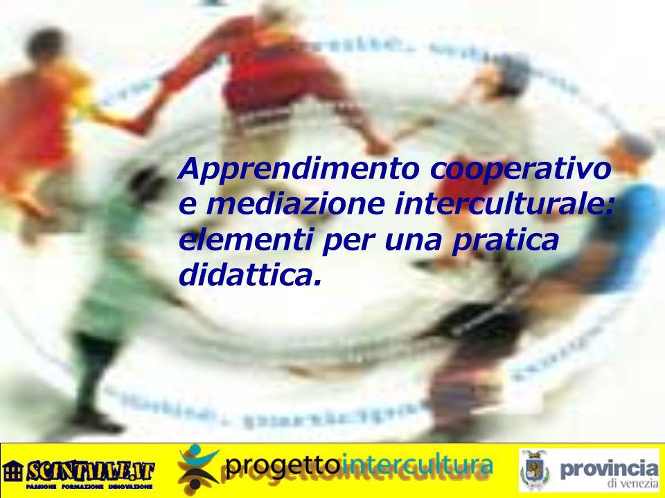 Apprendimento cooperativo e mediazione interculturale: elementi per una pratica didattica.