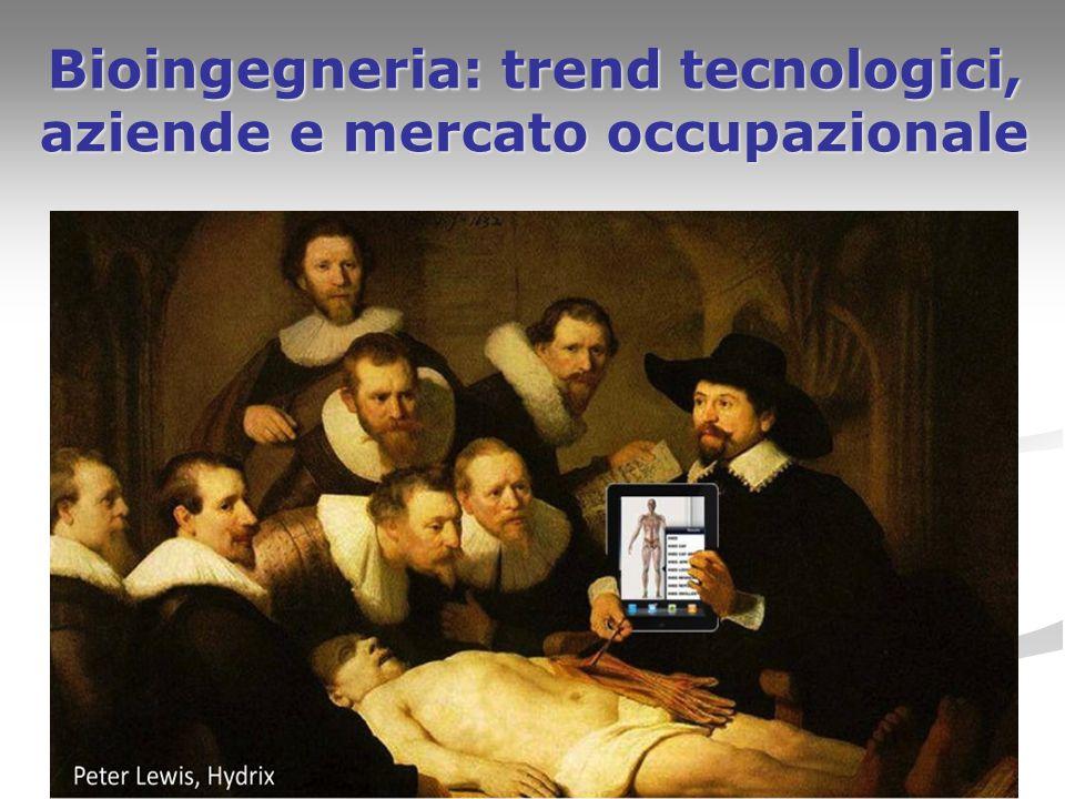 1 Bioingegneria: trend tecnologici, aziende e mercato occupazionale