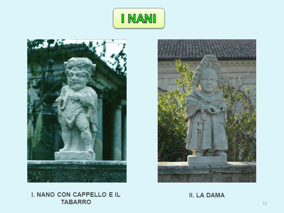 I. NANO CON CAPPELLO E IL TABARRO II. LA DAMA 13