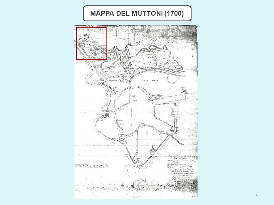 MAPPA DEL MUTTONI (1700) 8