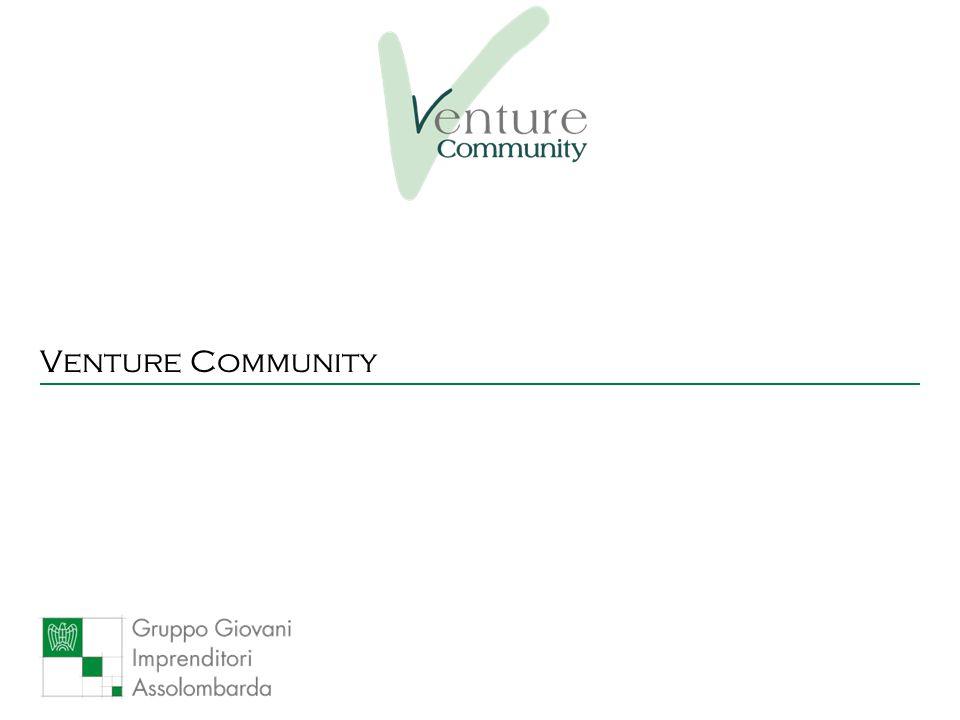 Settembre 20085 Che cos'è Venture Community è un'iniziativa dei Giovani imprenditori di Assolombarda per far incontrare nuove idee imprenditoriali e capitali d'investimento al fine di promuovere la nascita di nuove imprese Fondi d'investimento Banche SGR Family Offices Comunità finanziaria Singoli Individui Società esistenti Start-up Imprenditori Nuove idee Imprenditori Assolombarda
