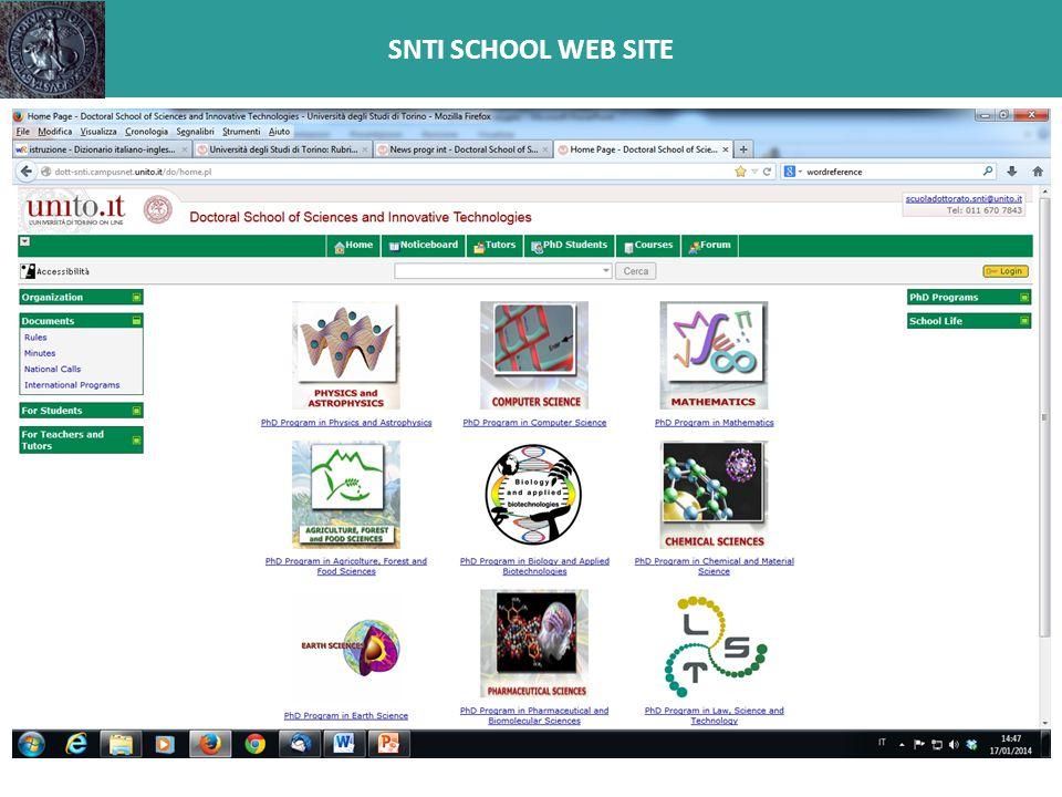 SNTI SCHOOL WEB SITE
