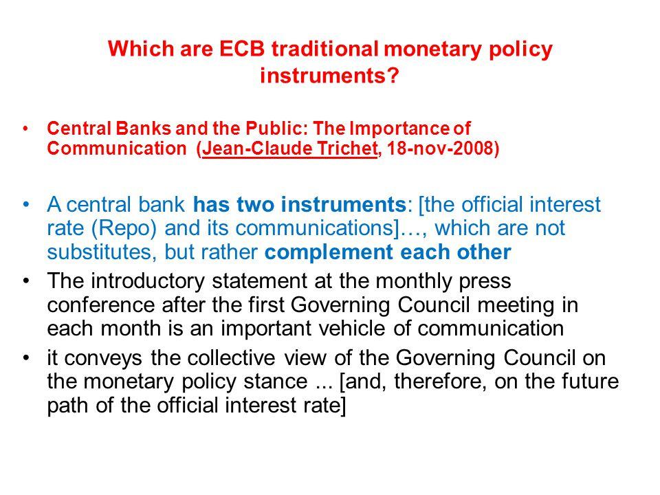Un altro risultato previsto dalla teoria è che, prima della riunione del Consiglio Direttivo della BCE, il mercato ha un'aspettativa sia del valore del nuovo tasso E[R] che del contenuto della conferenza stampa E[Words], cui i prezzi delle attività risultano già adeguati.
