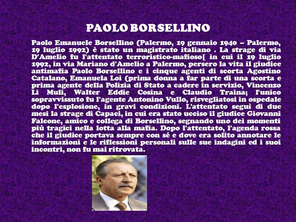 Giovanni Falcone « La mafia non è affatto invincibile.